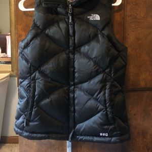 The North Face Down Vest Black S